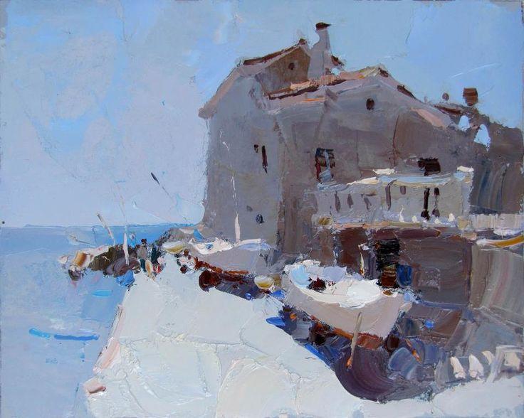 Oil on board. 30 x 20 cm. Daniel Volkov