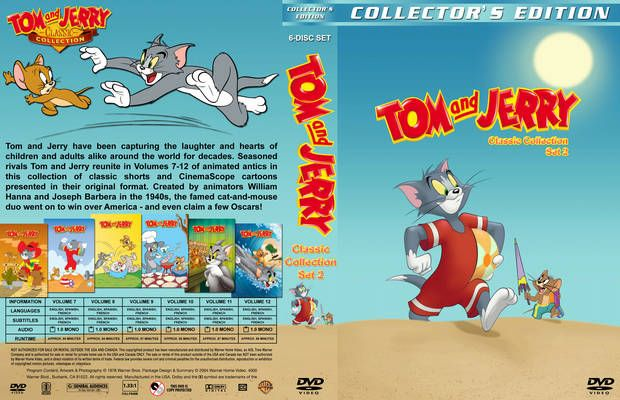 Tom And Jerry Classic Collection Set 2