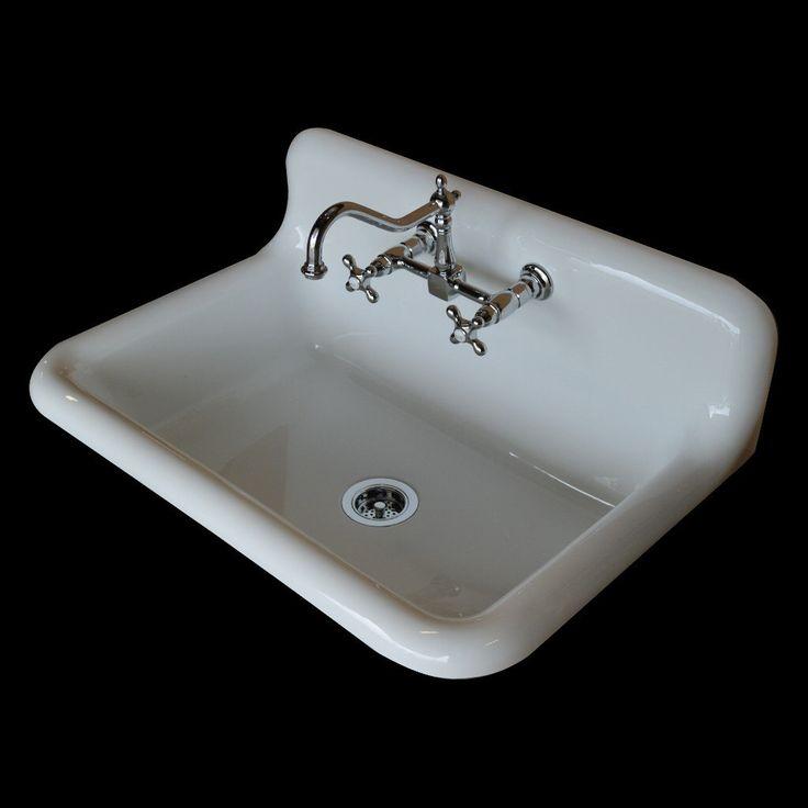36 X 24 Exclusive Farmhouse Sink Faucet Drain Basket Combo Reproduction Model Sb3624c