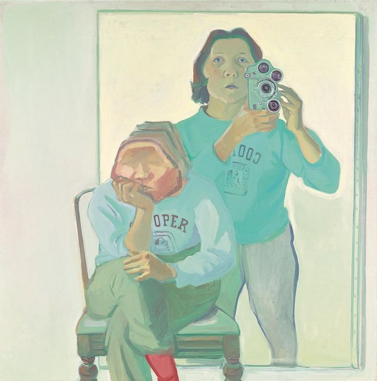 Was Maria Lassnig's work a painted precursor to the selfie?