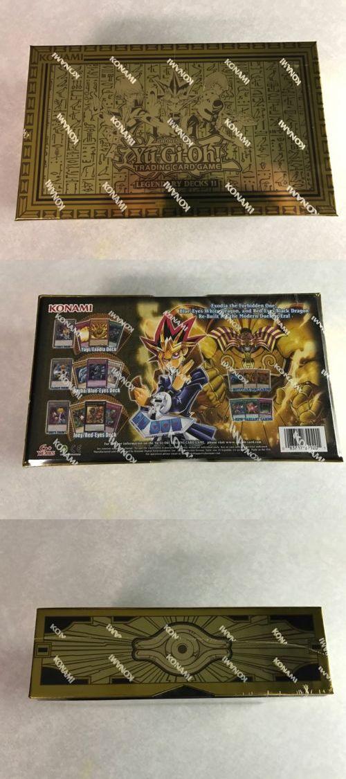 Yu-Gi-Oh Individual Cards 31395: Yugioh Legendary Decks Ii #2 Box! Yugi, Kaiba, Joey Exodia, God Cards, Sealed! -> BUY IT NOW ONLY: $39.99 on eBay!