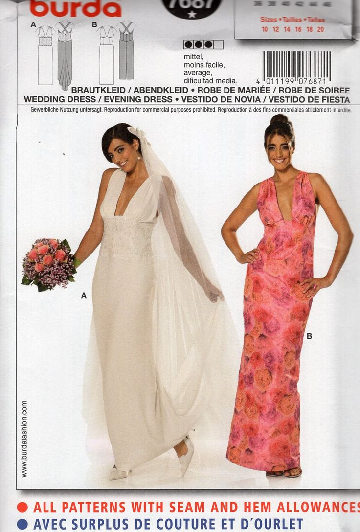144 best wedding sewing patterns images on pinterest sewing vintage sewing patterns dress designs vintage weddings plunging neckline bridesmaid dresses size 10 coupon codes coupons childrens bridesmaid ombrellifo Images