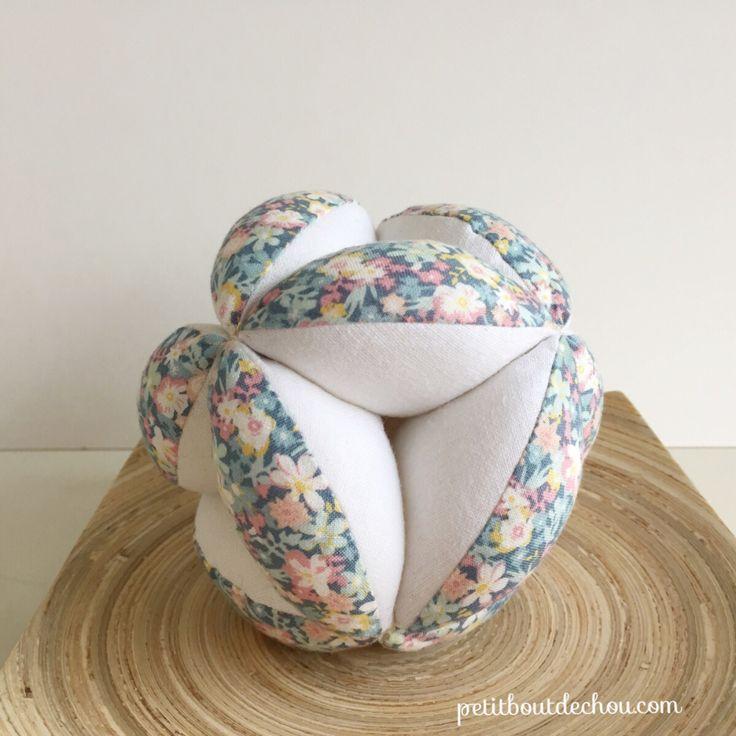 DIY How to make a Montessori ball - Petit Bout de Chou in ...