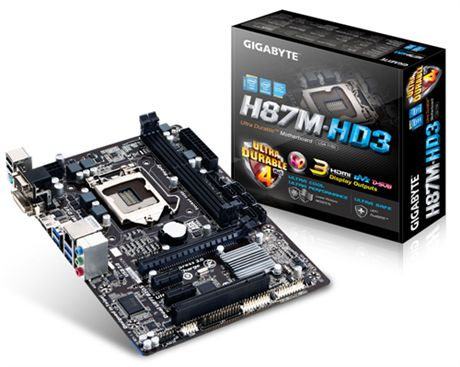 Gigabyte H87m-hd3