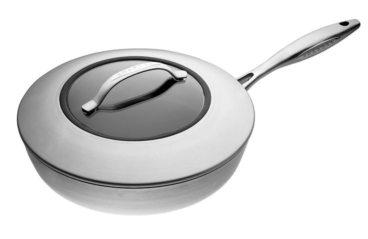 Scanpan CTX 10-1/4-Inch Covered Saute Pan ** See this awesome image  : Saute Pans