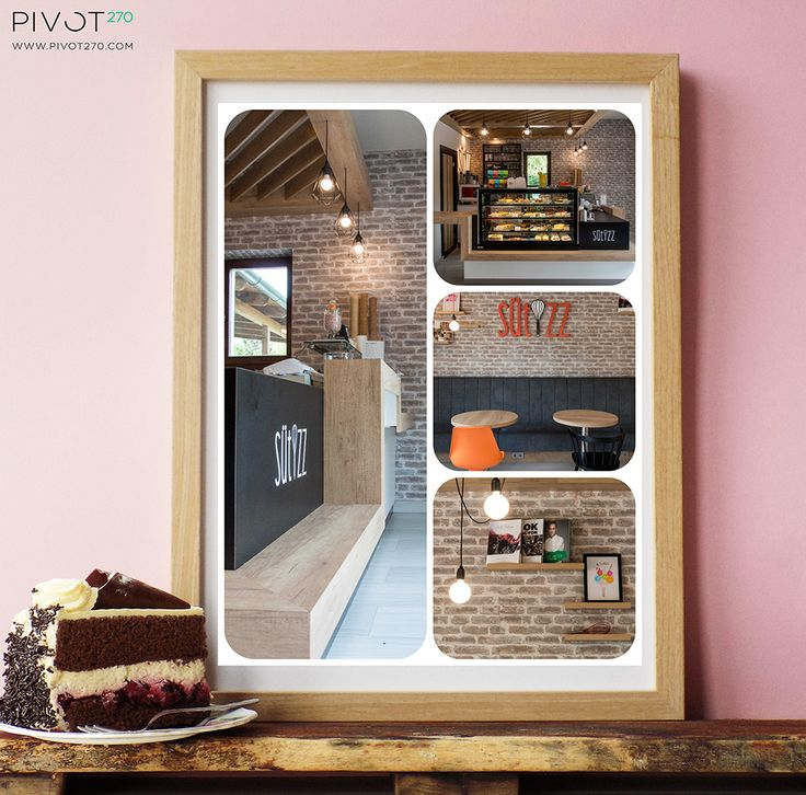 This week's project is Sütizz Confectionery which was opened recently in the 11th district of Budapest. It was a pleasure to work for a confectionery, that became finally a sweet little oasis next to the block of flats. http://sutizz.hu/ https://www.facebook.com/Sutizzcukraszda/?fref=ts For more pictures click here: http://pivot270.com/hu/referenciak/ #pivot270 #interior #design #decoration #belsőépítészet #sütizz #cukrászda