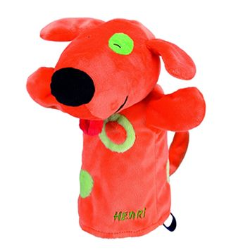"""Γαντόκουκλα """"Σκυλάκι Henri""""   Το Ξύλινο Αλογάκι - παιχνίδια για παιδιά"""
