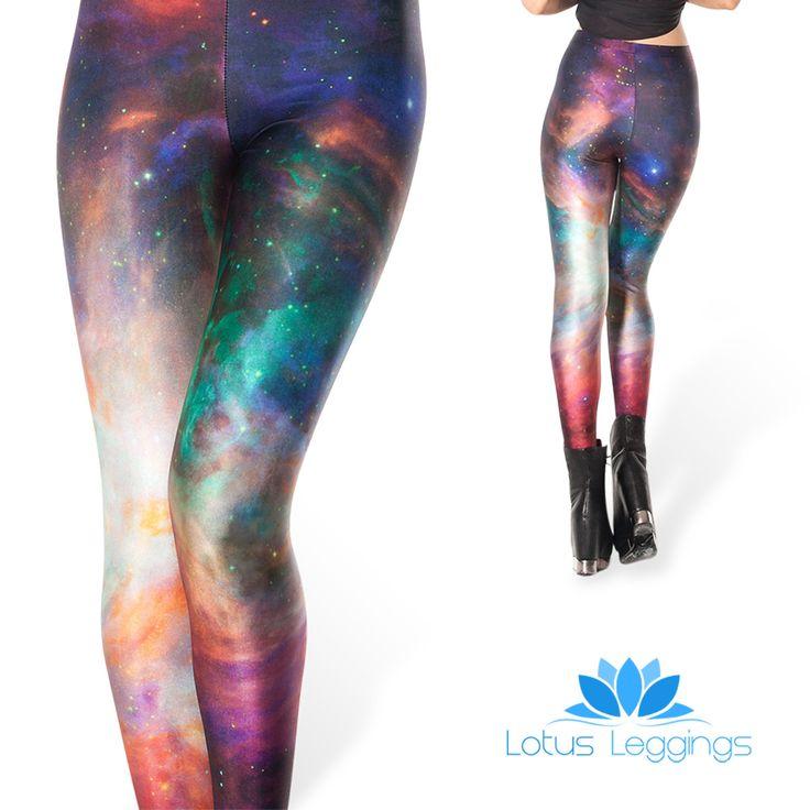 Galaxy Printed Leggings – Buy Now! – Lotus Leggings