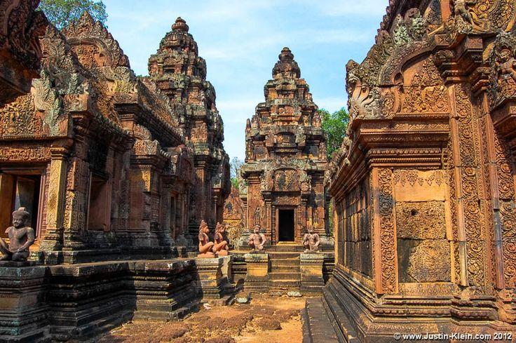 Interesting Bonteay Srey Temple Angkor Wat Cambodia Temple Cambodia Temple As Well As Banteay Srei In Cambodia