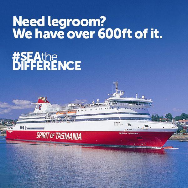 Need legroom? We have over 600 feet of it.
