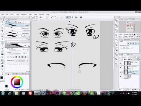 Sketsaka: Panduan Menggambar Mata Manga hanya 5 Menit, Jadi!...