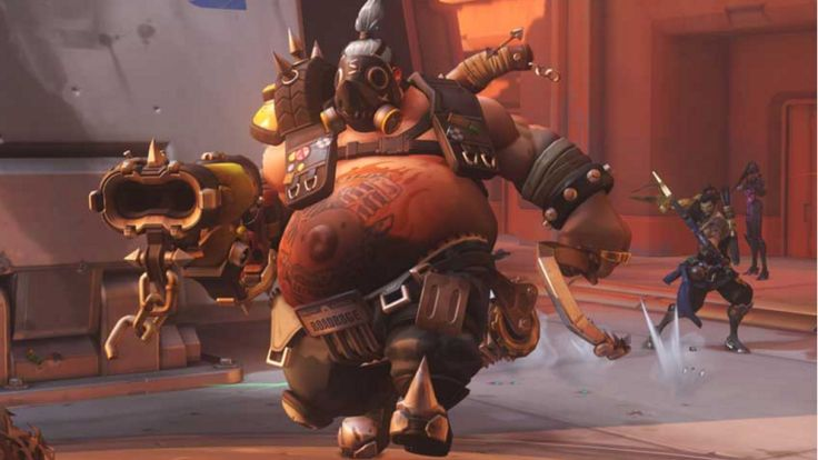 The Highest-Ranked Overwatch Player Mains Roadhog Suckers