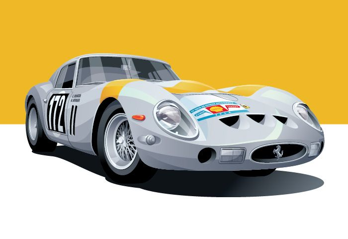 How Le Mans Inspired An Artist To Illustrate the Illustrious