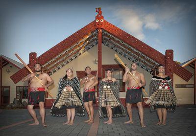Cultural performances at Whakarewarewa Thermal Village
