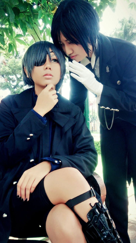 a new news my lord - Kuronami Caeruleus (Kuronami 黒波) Black Butler, Zerorin Sebastian Michaelis Cosplay Photo - Cure WorldCosplay