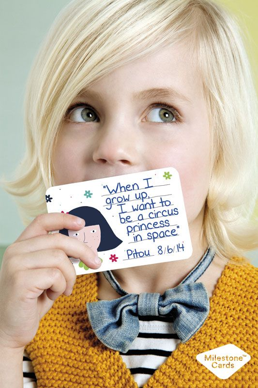 Perfect gift for young parents - http://www.milestonecards.com/milestone-mini-cards/