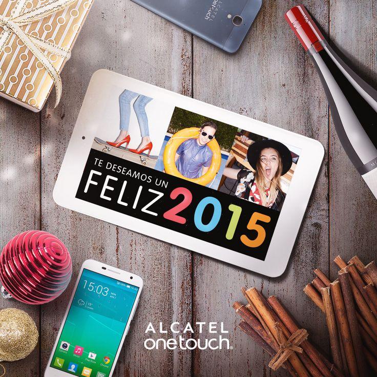 Hoy finaliza el año... es un buen día para pensar en todos los propósitos para el 2015. ¡ALCATEL ONETOUCH te desea un Feliz año lleno de metas cumplidas, mucho amor y felicidad compartida con tus seres queridos!