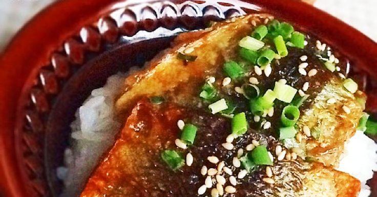 骨なし!フライパンで!さんまの蒲焼き丼 by nori* 【クックパッド】 簡単おいしいみんなのレシピが274万品