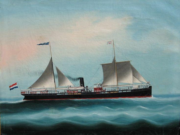 s.s. Sumbawa (1875)  Nederlandsch Indische Stoomvaart Mij.