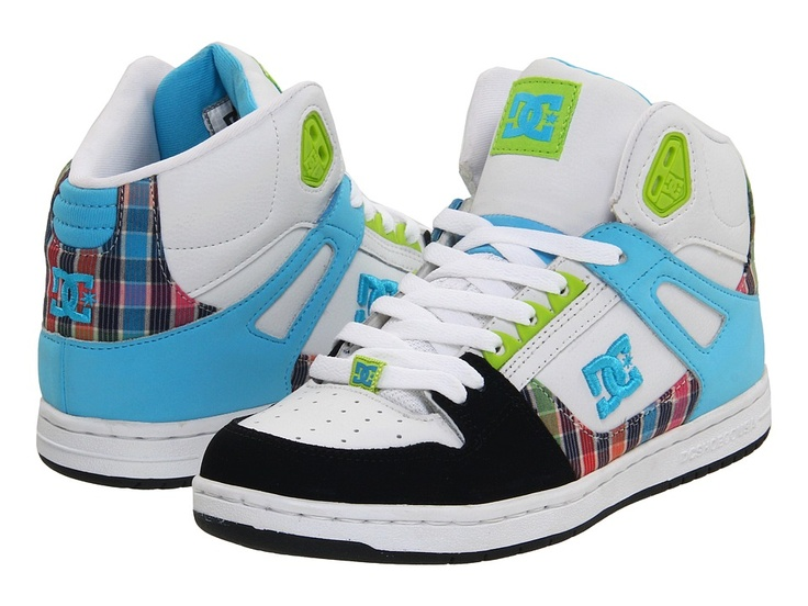 Love high-top DC shoes