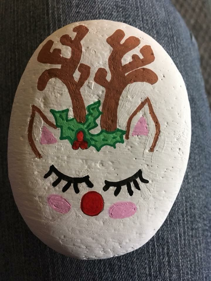Christmas reindeer rock
