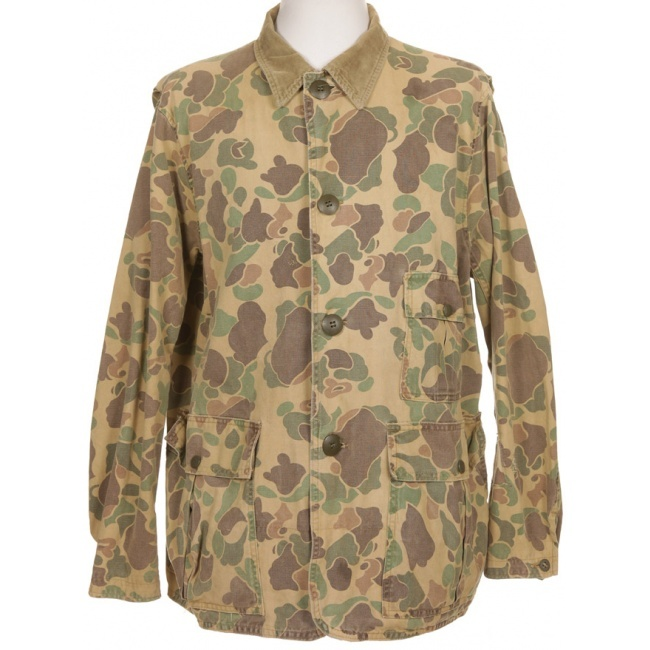 50s Ted Williams Duck Camouflage Hunting Jacket