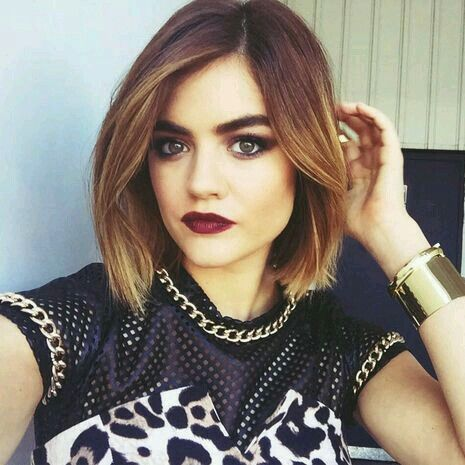 Lucy Hale S Bob Freakin Perfect Hair Color And Cut