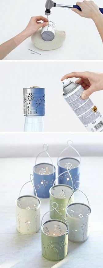 Como reciclar latas de conserva | Cacareco                                                                                                                                                      Más