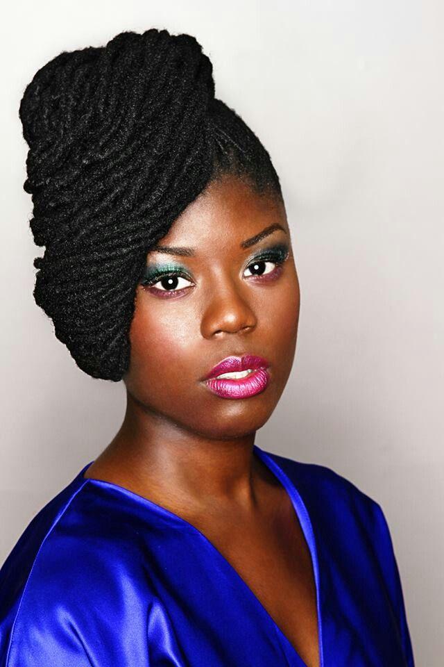 Strange 1000 Images About Lockology Dreadlocks Locs Updo Styles On Short Hairstyles For Black Women Fulllsitofus