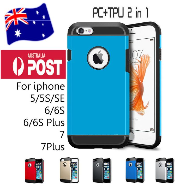 Hybrid Heavy Duty Hard Tough Armor Case Cover For Apple iPhone 5S 7 Plus 7 6S