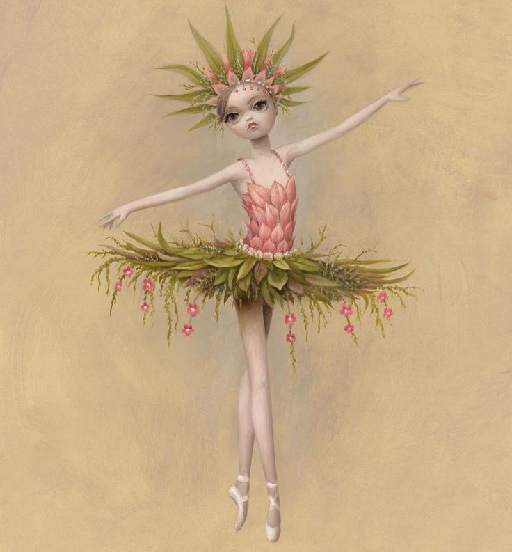 Princess Tea Flower   Mark Ryden