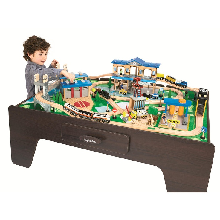 Pin imaginarium city central train table toys r daycare for 10 in 1 game table toys r us