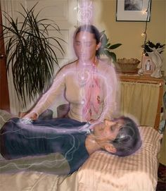 Tanran Reiki: Picture of Reiki in Action