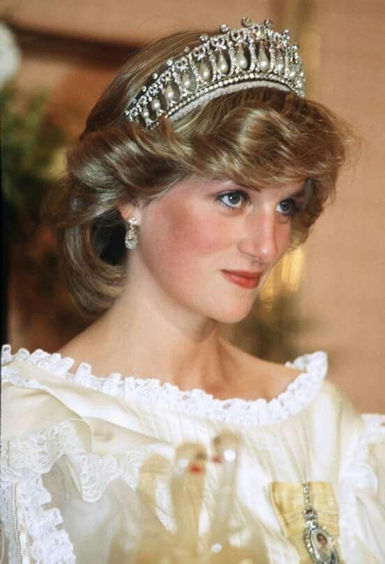HRH Diana, Princess of Wales.