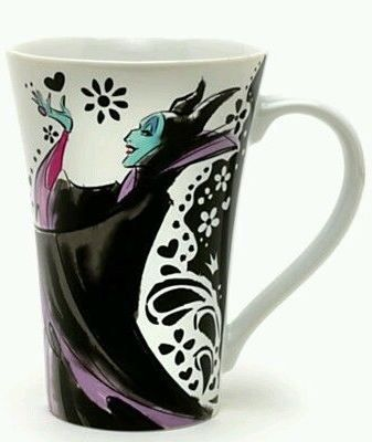 Disney Store Exclusive: Sleeping Beauty's Maleficent coffee mug. Now available on eBay by clicking on the image of the mug.