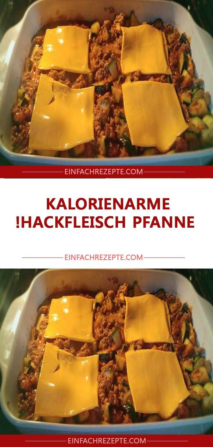 Kalorienarme Hackfleisch Pfanne