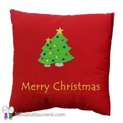 Bantal Natal Katun dapat dijadikan hadiah Natal untuk anak-anak Sekolah Minggu. Juga dapat dijadikan souvenir Natal untuk dibagikan di Gereja.