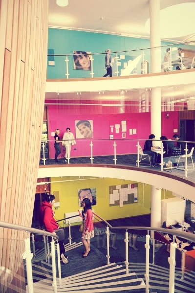 Inside the University of Exeter INTO Exeter centre. #studyabroad #INTOExeter