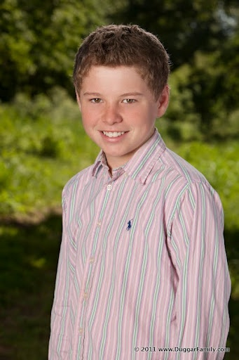 Jeremiah Robert Duggar 2012  13 years old