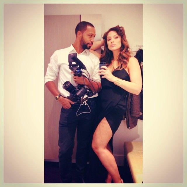 Ashley Graham And Her Husband Justin Ervin Pinterest Models Smoking