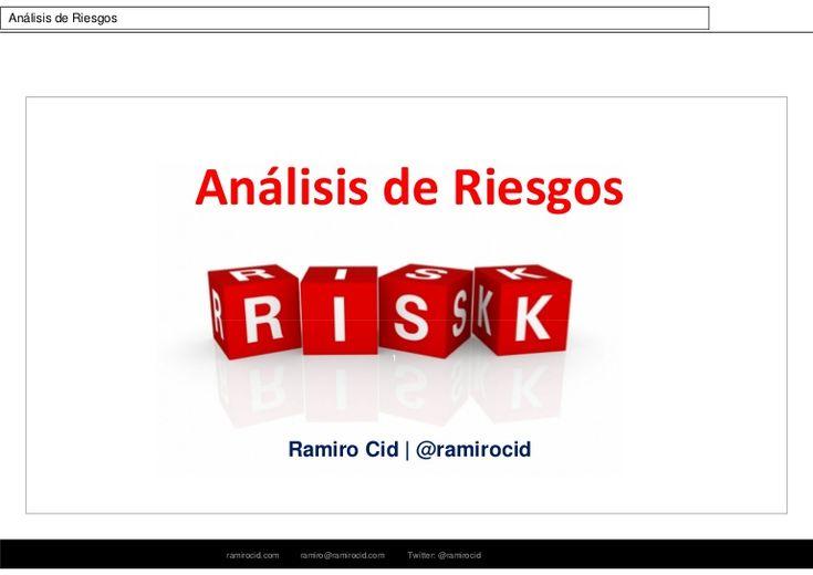 Completo documento que desarrolla todos los aspectos a tener en cuenta en el momento de llevar a cabo un correcto análisis de riesgos y su posterior gestión. S…