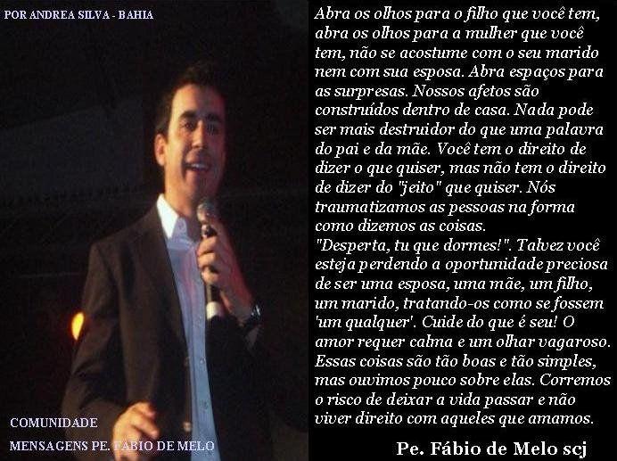 Frases De Padre Fábio De Melo Sobre O Amor: 17 Best Images About Padre Fabio De Melo On Pinterest