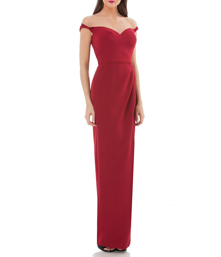 Shop for JS Collections Off-The-Shoulder Gown at Dillards.com. Visit Dillards.com to find clothing, accessories, shoes, cosmetics & more. The Style of Your Life.