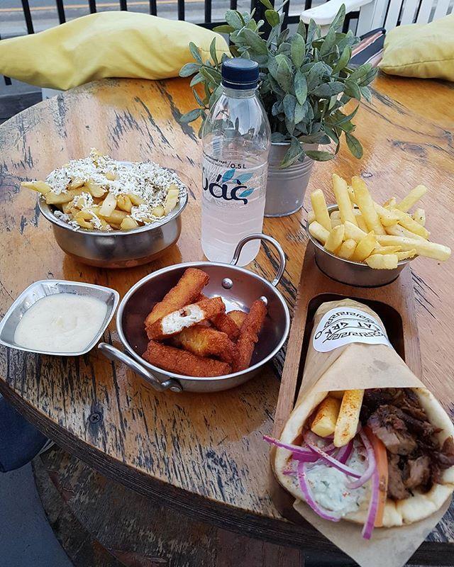 #gyros #haloumichips #feta #chips #pork #lamb #chicken #yum #food #foodpic #foodie #instafood #foodporn #greece #greek #greeceblogger #greeceholiday #greecestagram #greeklife #instatravel #ellada #ilovegreece #lovegreece