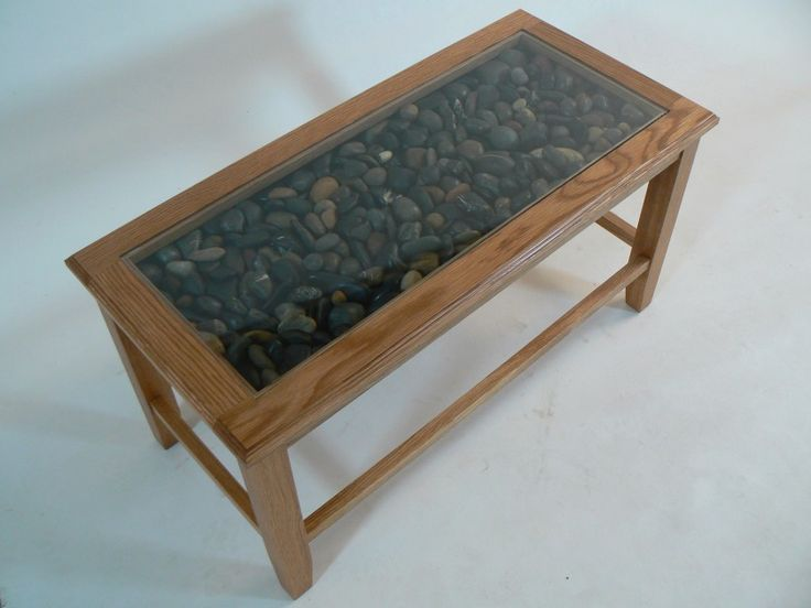 Coffee Table With Glass Display Drawer Collection Glass Display