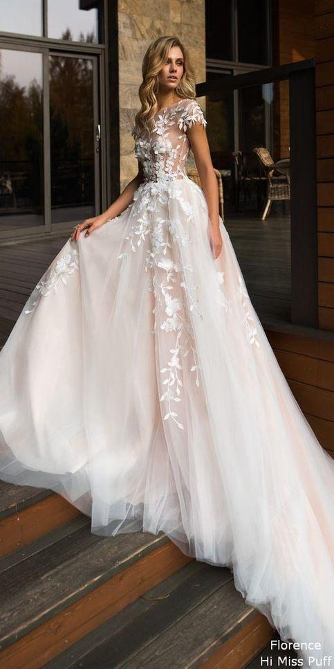 Sweetheart Lace Applique Long Evening Dress, Vit Aftonklänning DP015
