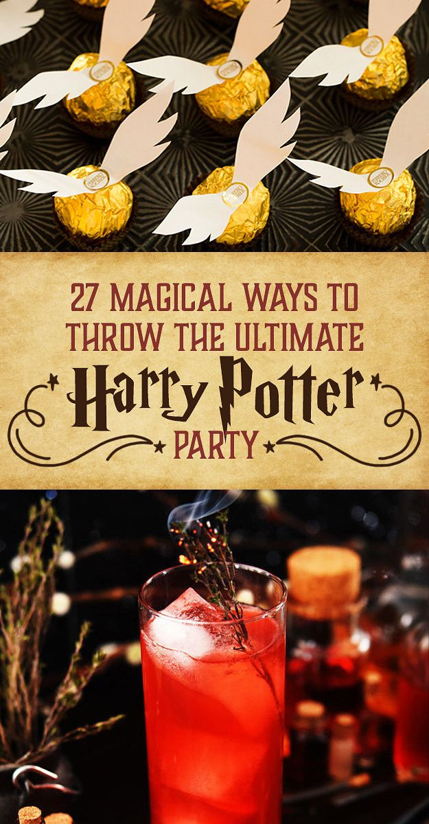 27 Magical Ways To Throw The Ultimate