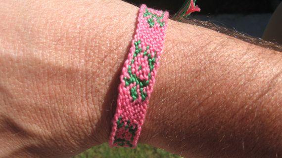 Turtle Friendship Bracelet by SaxophoneChick on Etsy, $7.00