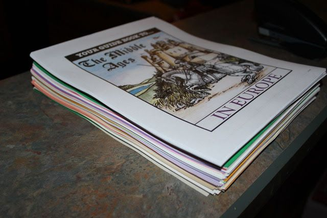 Review from Half-a-Hundred Acre Wood: Middle Ages Project Passport by Homeschool in the Woods