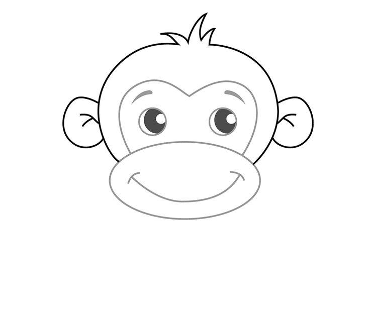 Картинки дедулек, рисунок обезьяны для срисовки